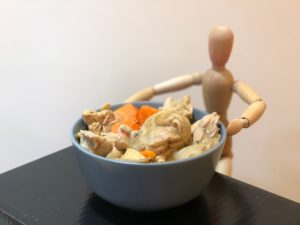 簡單料理之烏醋薑燒雞