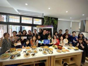 二次來訪的扶輪社賓客! 「禧愛」韓式料理大比拚